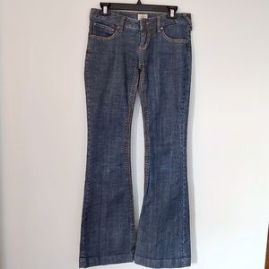 Free People Boot Cut Blue Jeans